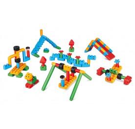 PolyM Adventure Playground Building Blocks Kit