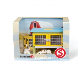 Schleich Rabbit Scenery Pack