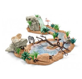 Schleich Big Adventure At The Waterhole
