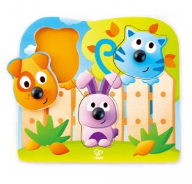 Hape Big Nose Wild Puzzle