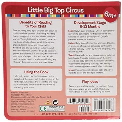 Lamaze 27909 Little Big Top Circus