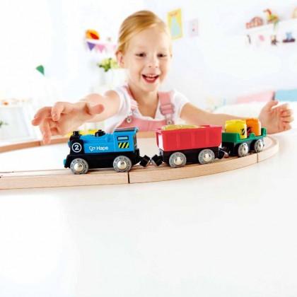 Hape 3720 Rolling Stock Train Set