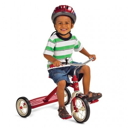"""Radio Flyer 34 Classic Red 10""""Tricycle for 2 to 4 year old"""