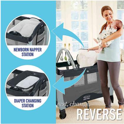 Graco Pack N Play with Newborn Napper Changer Sprinkler