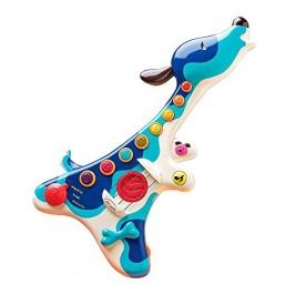 B. Toys Woofer, Hound Dog Guitar