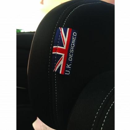 Cozy n Safe Hudson (25KG Harness) Group 1/2/3 Child Car Seat-All Black