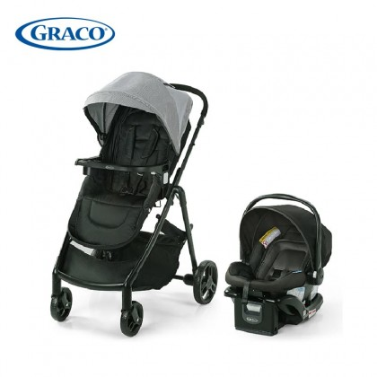 Graco Modes Basix Travel System, 3 strollers in 1, Mercer