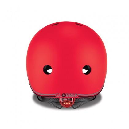Globber 506-102 Helmet Go Up Lights XXS/XS (45-51cm), New Red