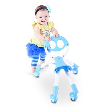 Y Pewi for walking/riding age 1-3 years~ White/Blue