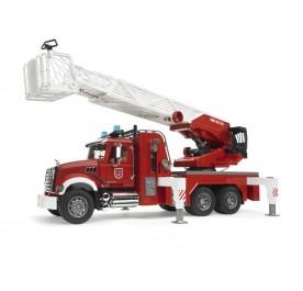 Bruder MACK Fire Engine with Ladder, Water pump, Light & Sound Module