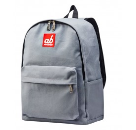 AB Simplicity Grey Kid Canvas Backpack