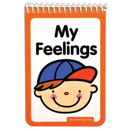 K's Kids Training2s 21010 My Feelings Chart for Kids age 3+