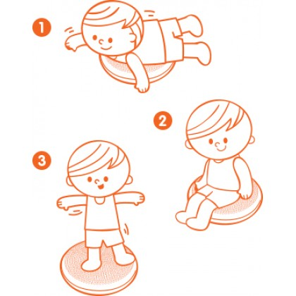 K's Kids Training2s 21019 Balance Cushion