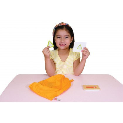 K's Kids Training2s 21023 Touch & Feel Shapes Sensory Toy