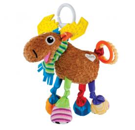 Lamaze Mortimer the Moose Clip on Pram Toy