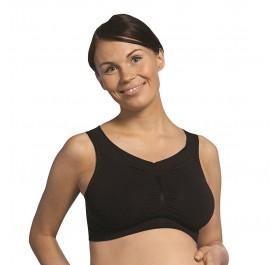 Carriwell Seamless Maternity Bra - Black L