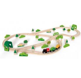 Hape Railway Forest Railway Set