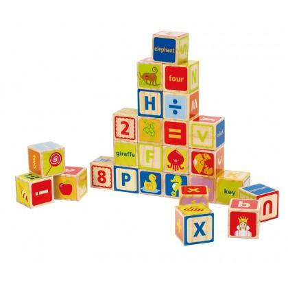 Hape 0419 ABC Blocks