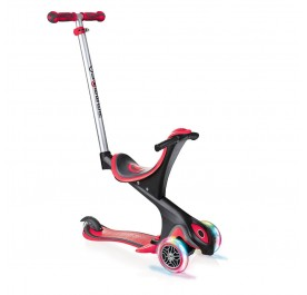Globber 3 Wheel 5-in-1 Convertible Scooter with LED Light Up Wheels