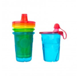 The First Years Take & Toss 10oz Spill Proof Cups 4Pk