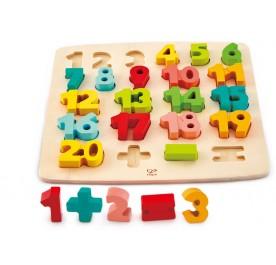 Hape Chuncky Number Maths Puzzle